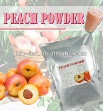 Peach flavor bubble tea drink powder