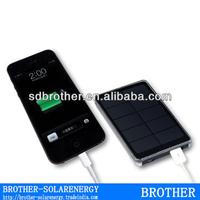 5V 1A 2000mAh mobile solar charger