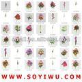 projetos do bolo flores fabricante do mercado de yiwu para flores artificiais