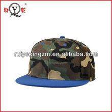 Custom Camo Print Snapback Hats Factory Brand Sports Goods wholesale