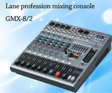 Lane GMX-8/2 8 channels professional USB dj sound mixing console