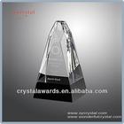 Trophy black bases crystal obelisk