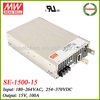 Meanwell SE-1500-15 1500w switching power supply 15v 100a