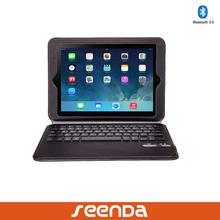 2014 new product detachable bluetooth keyboard case for ipad mini, ultra-thin wireless bluetooth keyboard for ipad air