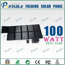 high efficiency flexible solar panel for boats 100w