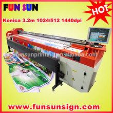 konica minolta KM512 14pl print head digital solvent printers outdoor ( 8 Konica512 head, 720dpi )
