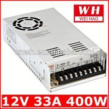 CE approved DC output transformer 400w power supply dc 12v 30a