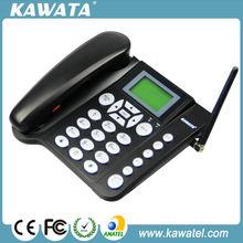 2014 oficina de venta al por mayor pantalla lcd fijo gsm teléfono de escritorio