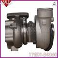 Turbocompresor ct20 17201-54060 partes cargador de turbo para toyota