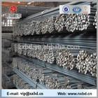 Hot rolled construction dimensions deformed steel rebar