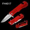 Anodized Aluminum Handle Survival Folding Knife