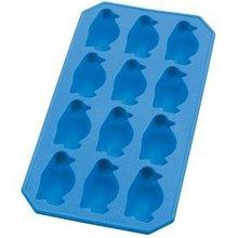 Penguin shaped silicone ice tray