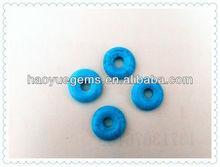 Cabohon Cut Abacus Blue Turquoise Precious Cheap Stone