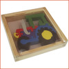 tractor puzzle Europe wood puzzle