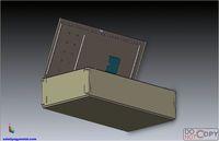Outdoor smc dmc meter cabinet