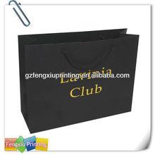 Factory Guangzhou High Quality 2015 2015 High End Band Paper Bag