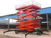 Hydraulic scissor lift for aerial task manufacturer in china