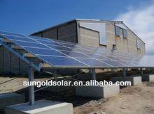 hot sale renewable energy solar carportl panel mounting bracket for home