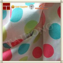 100% cotton 30*30 78*65 wholesale printed 100% cotton fabric cotton polka dot
