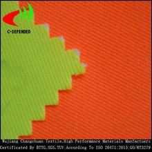 fluorescent twill poly cotton fabric hi vis reflective hi vis fabric manufacturer