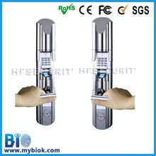 Home/ Office security, HF-LE211 fingerprint digital TCP/IP networking door lock