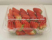 plastic rectangular tray for vegetable/plastic vegetable storage tray/plastic trays for fresh fruit and vegetables