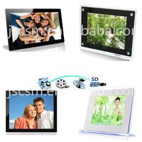 HD! 19 inch high resolution lcd/led screen video/music/photo display digital
