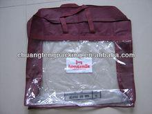 Custom brand Qingdao sewing cheap zipper bag