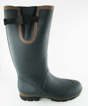 Dark green men's hunting boots boots men