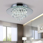 Modern crystal LED ceiling lighting luxurious lamps