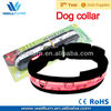 pet protecting lighted dog collar beautiful dog collar led equiped optional size led leashes