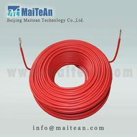 snow melting flat ribbon underfloor heating cable