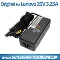 オリジナルのラップトップacアダプターは20v3.25a65ワットadlx65nlc3aレノボ