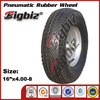 Rubber coated wheel, pneumatic rubber wheel 16x4.80/4.00-8