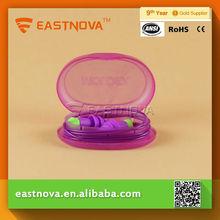 EASTNOVA ES313C-1 soft ear plug problems with cord CE standard