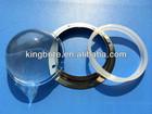 led glass lens 78mm 60/90/120 degree for 30W-150W COB highbay lamp
