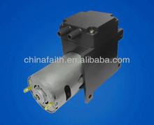 15L/M dc 12V electric mini brush diaphragm air compressor pump