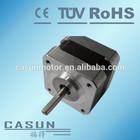 12v dc motor for sale! China made casun 42mm stepper motor nema 17 for 3d printer