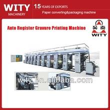 Auto Register BOPP film rotogravure Printing Machine