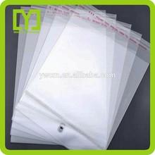 Yiwu Transparent Plastic Self Adhesive Bopp Bag
