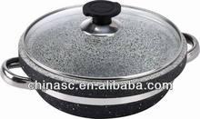 Classic stone electric steam cooker pot