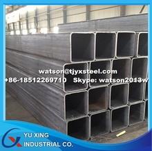 Weight MS Square & Rectangular Steel Pipe -DIN EN 10219/DIN EN 10210/ASTMA500/GB/T 3094--Q195-345/S235-355/ASTMA106
