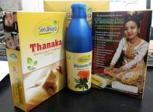 Premium Quality Thanaka / Thanakha Products & 100% pure Thanakha Powder