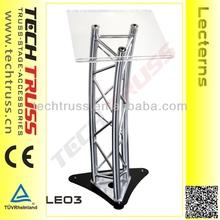 LE03 High Quality Performance Aluminum Lectern Podium