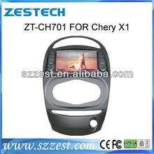 ZESTECH Dashboard Car DVD GPS AM FM RDS TV IPOD for Chery X1