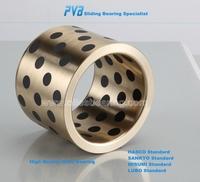 Solid Lubricants Sliding Bushing,Graphite Bronze Bushing Bearing,SPB-150170100 Oiles Guide Bushing