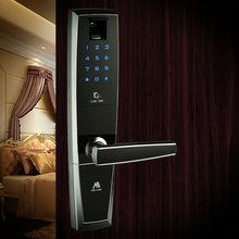 Sliding fingerprint door lock, door lock sliding garage, biometric door locks