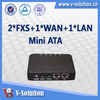 mini ATA Adapter SIP VoIP Gateway Analog Telephone Adapter