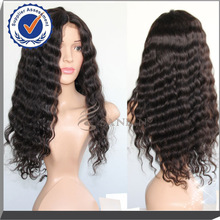 New products high quality black women brazilian hair full lace wig