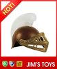 funny cosplay mini samurai helmet samurai warrior helmet with LED light for kids